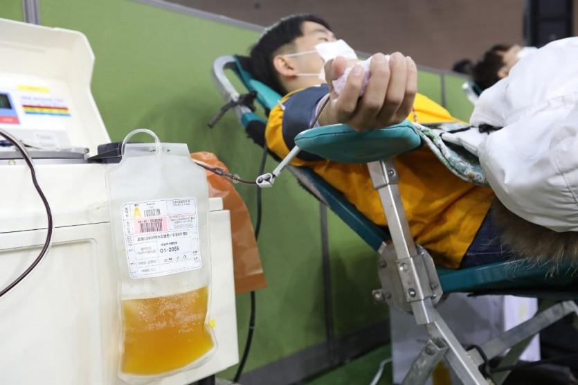 신천지예수교회, 코로나19 혈장치료제 개발 위해 4천명 혈장 공여 진행.jpg